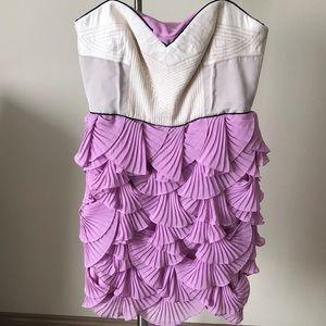 "BCBGMAXAZRIA ""Nevada"" Lavender Dress"